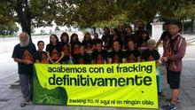 Asamblea contra el fracking.