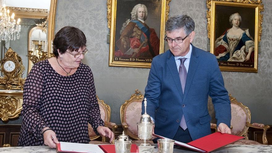 Navarra y Aragón firman un convenio por el que la Comunidad foral cede el uso de su sistema de gestión de Justicia