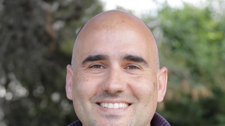 David Rodríguez, candidato a coordinador de Esquerra Unida (EU).