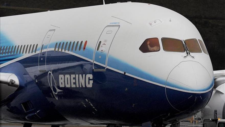 Boeing redujo sus beneficios en un tres por ciento durante 2012 hasta 3.900 millones de dólares