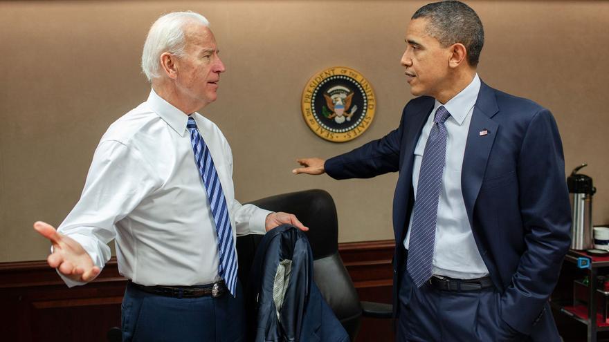 Una conversación entre Biden y Obama en la Casa Blanca.