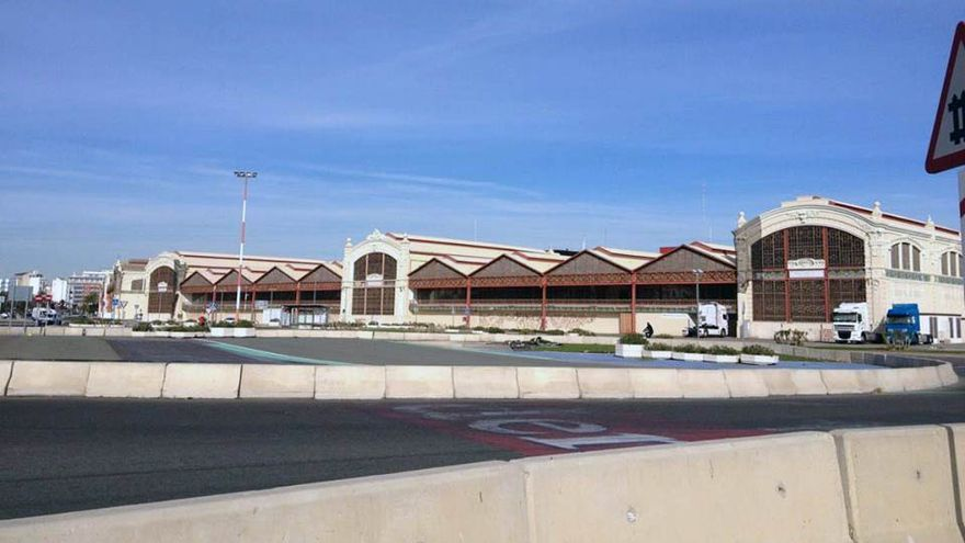 Las instalaciones del Puerto de Valencia que estaban bloqueadas por la Fórmula 1