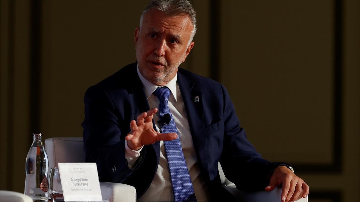 El presidente de Canarias, Ángel Víctor Torres. EFE/J.J. Guillén/Archivo