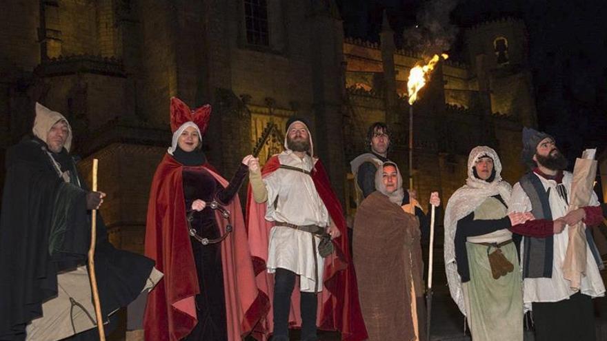 Teatro histórico nocturno en Guarda para atraer turistas de España y Portugal