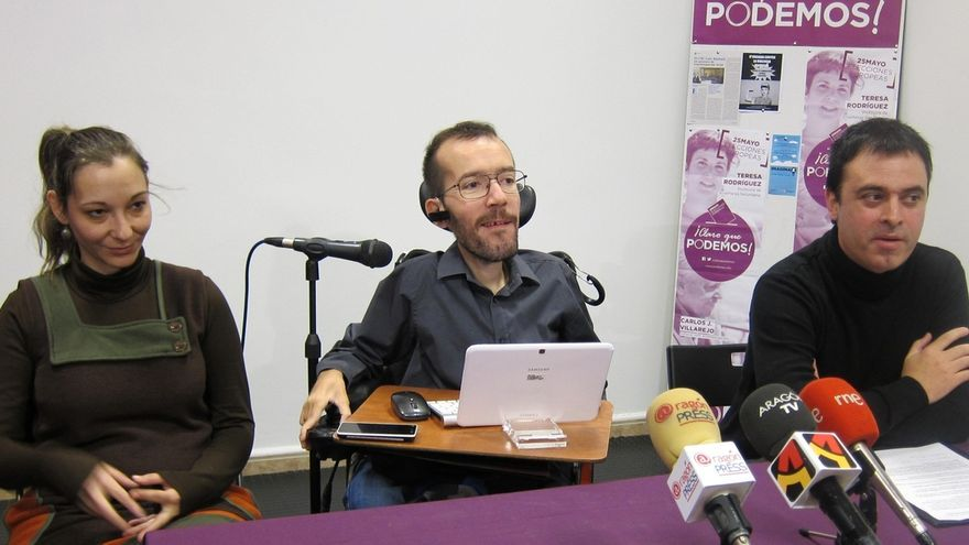 Podemos abre 13 oficinas de atención ciudadana de sus europarlamentarios, una en Zaragoza