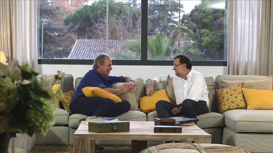 La entrevista a Rajoy logra el récord de audiencia del programa de Bertín