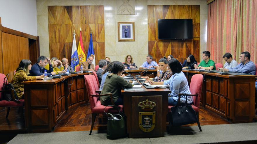Reunión del Cabildo con los ayuntamientos.