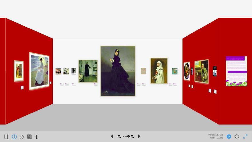 Imagen de la muestra Violetas de Tinta