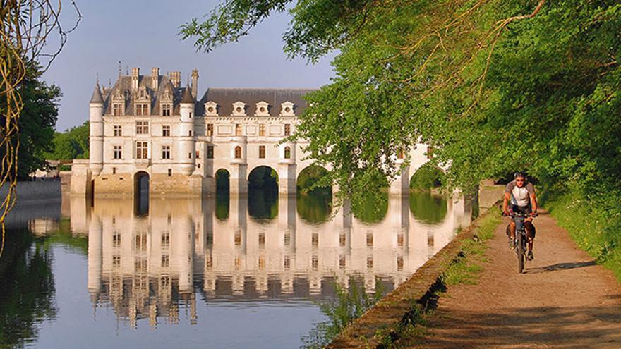 Cicloturismo en Valle del Loira, Francia