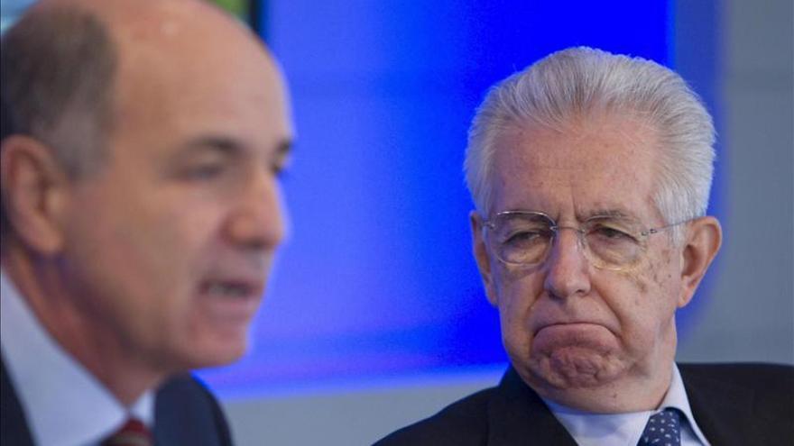 Monti aboga por reformas radicales y dice que Italia no necesita nuevo ajuste