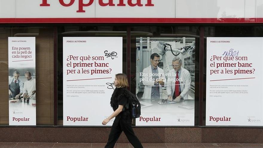 El Banco Popular perdió 13.595 millones en 2017, cuatro veces más que en 2016