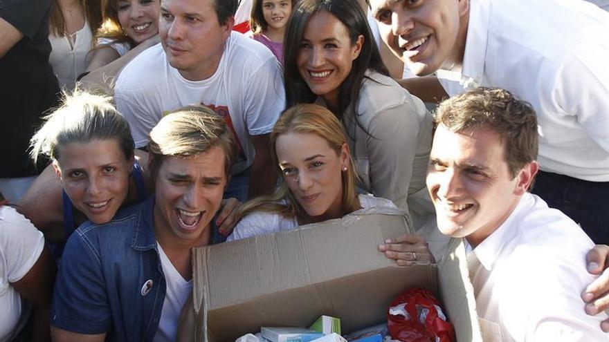 El Partido Popular y Ciudadanos donan medicamentos para Venezuela