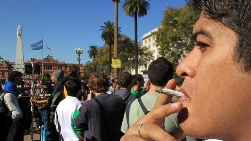 Miles de personas se suman en Argentina a la Marcha Mundial de la Marihuana