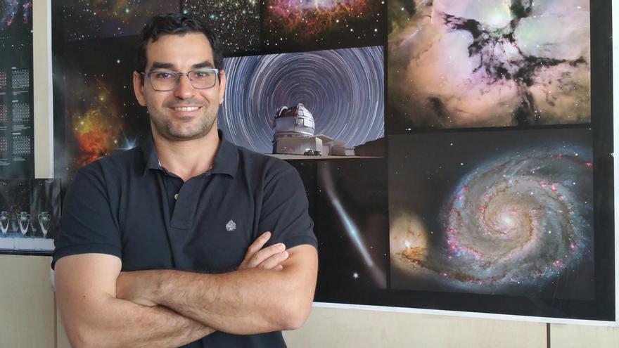 Antonio Cabrera Lavers es jefe de Operaciones Científicas del GTC. Foto: LUZ RODRÍGUEZ.