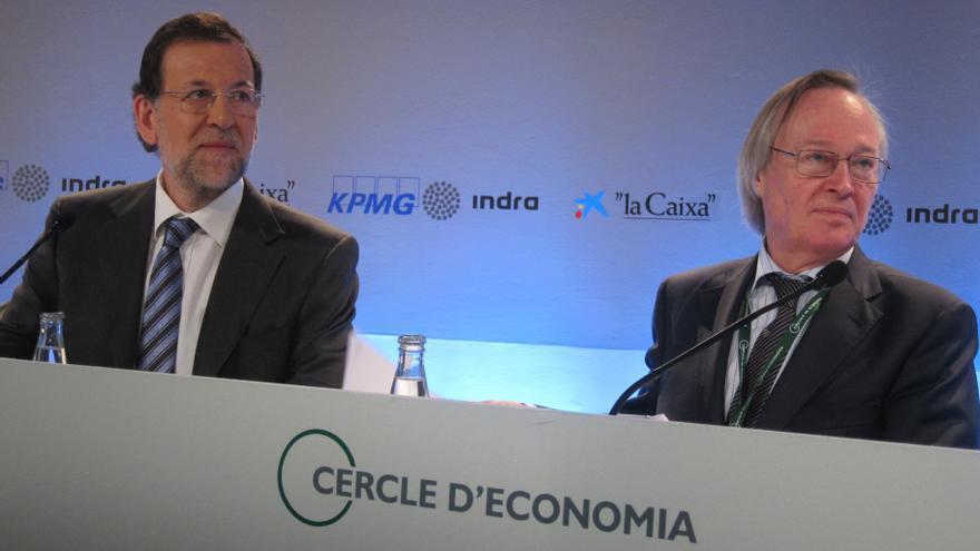 Rajoy clausura la reunión del Círculo de Economía con Europa, el déficit y un gran pacto con el PSOE sobre la mesa
