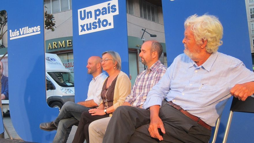 """Villares (En Marea) llama a """"tumbar los muros"""" de las leyes de """"los que gobiernan sin presentarse a elecciones"""""""