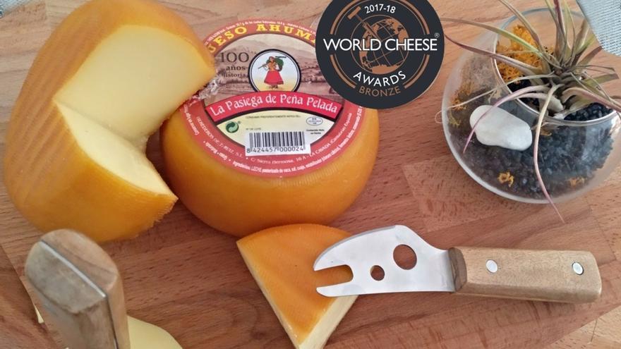 El ahumado de 'La Pasiega de Peña Pelada' gana un 'bronce' en los premios internacionales del queso