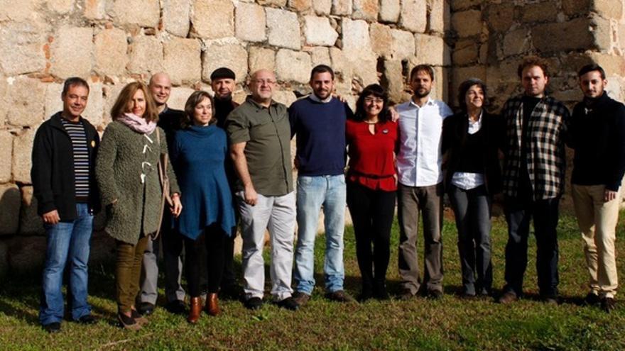 Foto de familia de los candidatos de Podemos Extremadura a las elecciones generales / @Podemos_EXT e