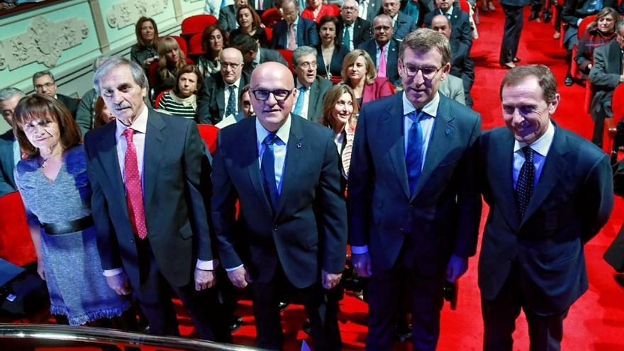 """Feijóo dice que España """"debe mirar a Galicia"""" como """"antes miraba a Cataluña"""""""