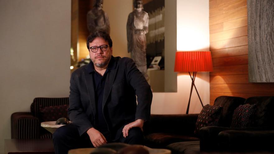 El escritor colombiano Santiago Gamboa, autor de 'Será larga la noche'.