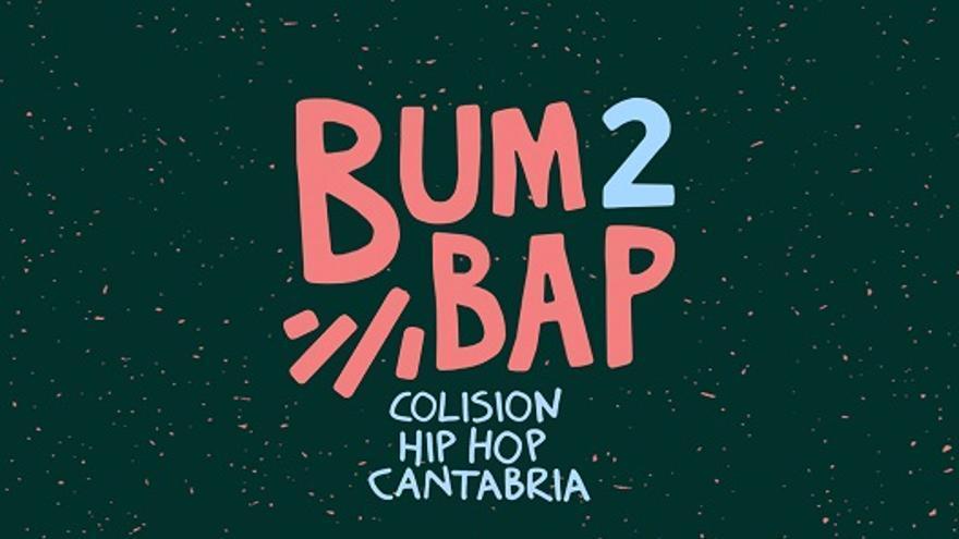Imagen del cartel de la segunda edición del festival Bum Bap Colision