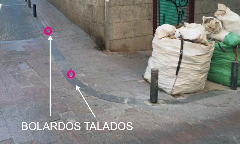Estado actual de la calle Don Felipe