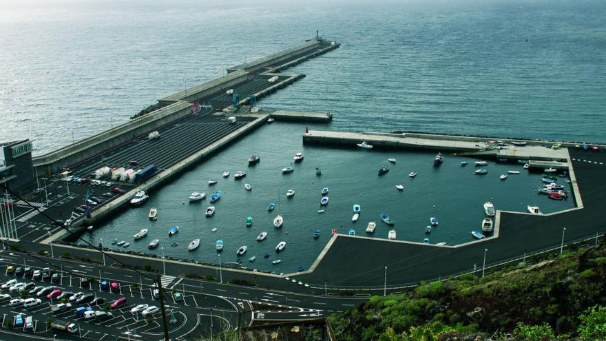 Puerto de la Estaca, en El Hierro.