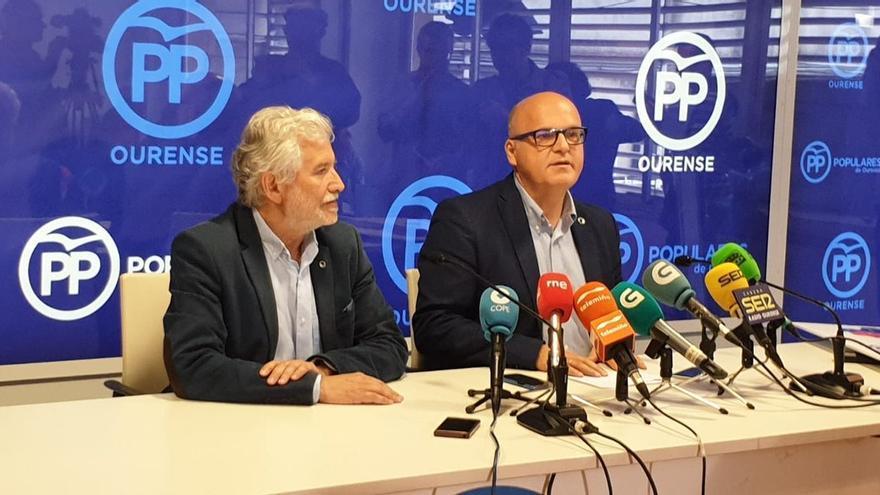 José Manuel Baltar, valorando los resultados de las municipales