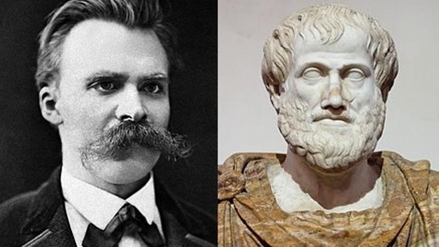 Friedrich Nietzsche y Aristóteles