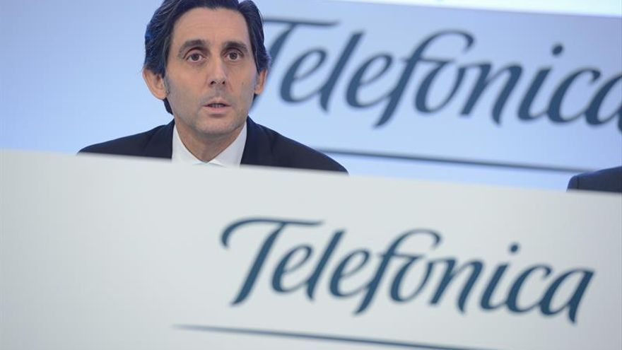 Telefónica gana un 7,4 % más hasta marzo y reduce su deuda un 9,8 %