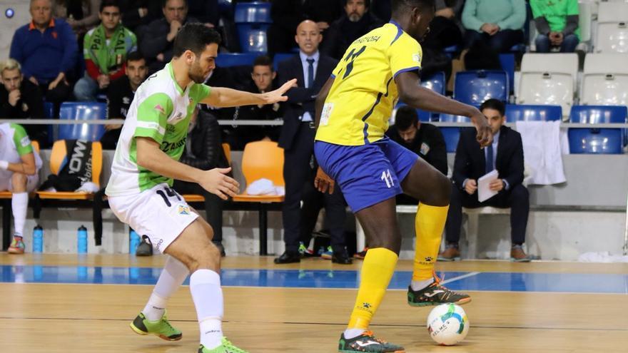 Partido entre el Gran Canaria FS y el Palma Futsal.
