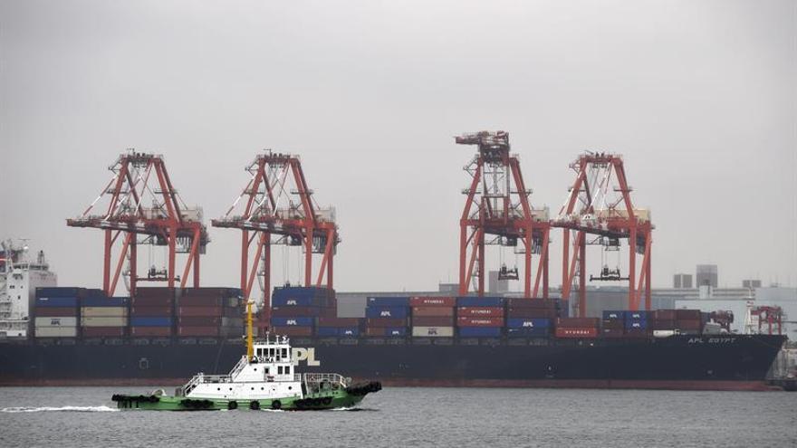 Japón logró en mayo un superávit corriente de 16.200 millones de euros