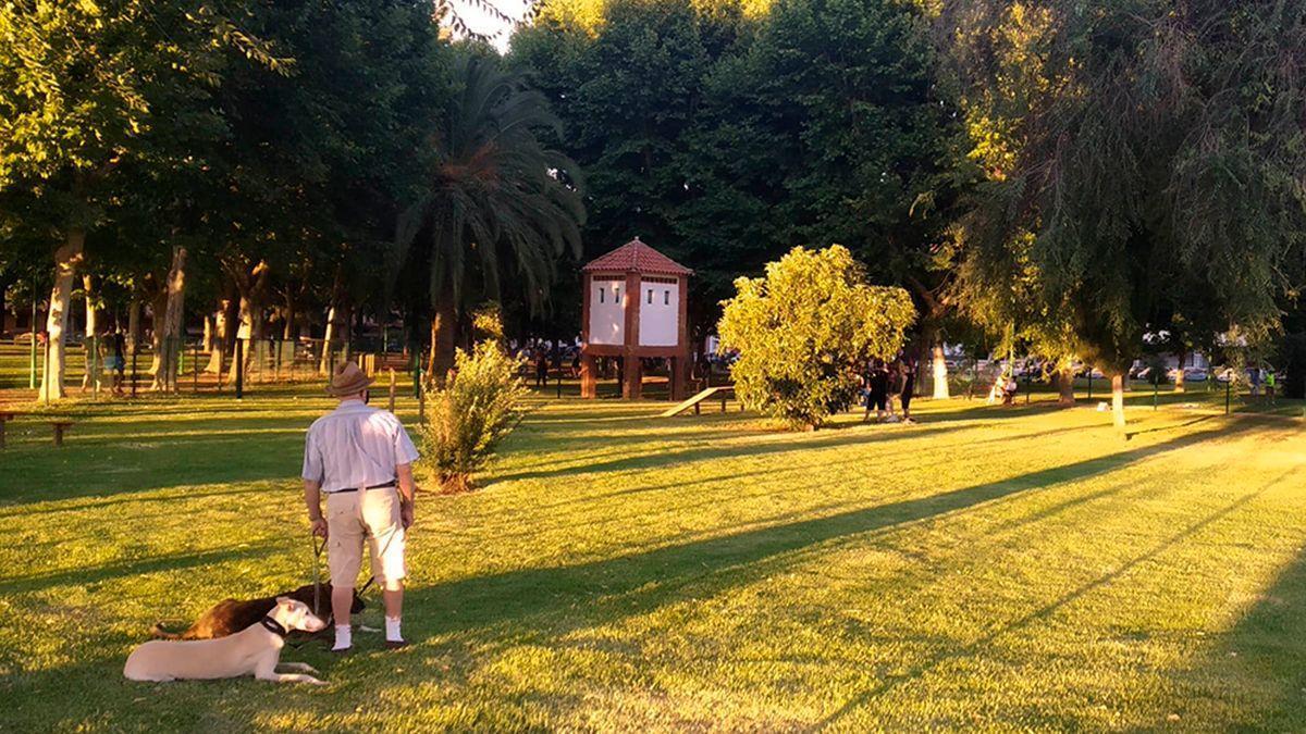 Nuevo parque canino en los jardines de Fray Albino.