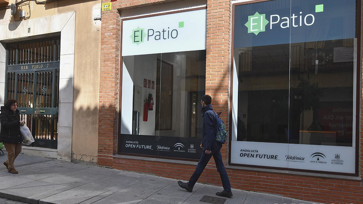 El Patio, espacio Open Future de innovación tecnológica.