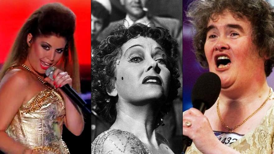 """El """"amanecer"""" de Susan Boyle y Cristina Ramos en Telecinco ante 'El crepúsculo de los dioses' en La 2"""