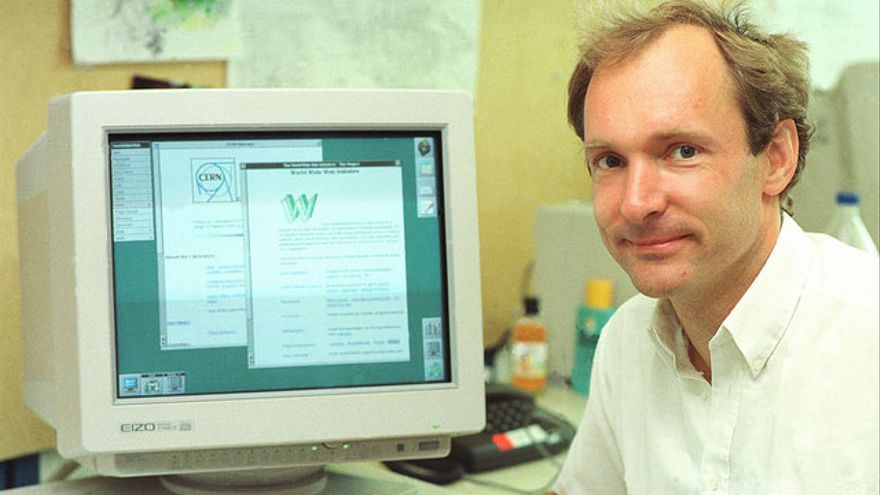 Tim Berners-Lee era un apasionado de la electrónica y las matemáticas desde niño