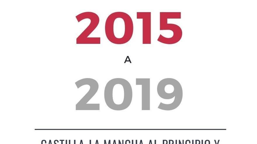 Castilla-La Mancha entre 2015 y 2019: diez cifras de la evolución de una región