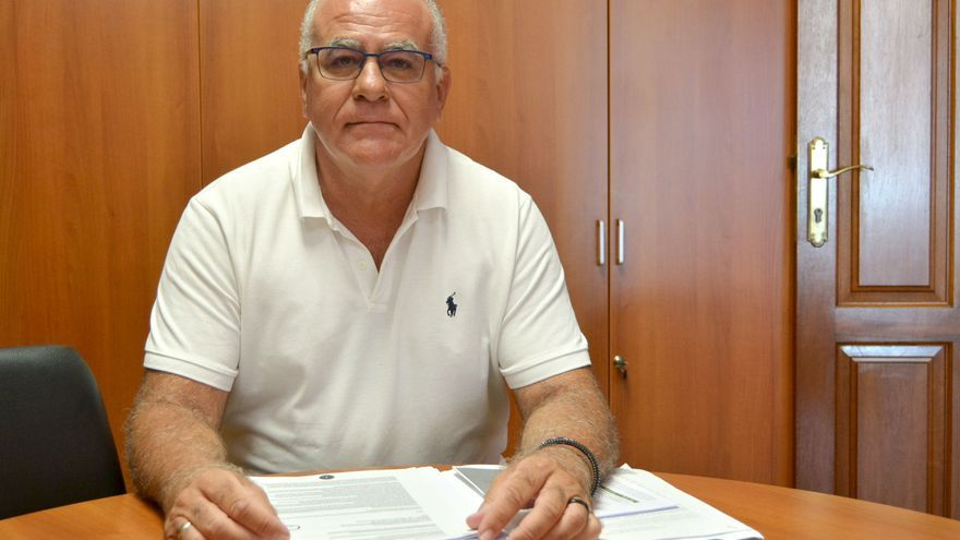 Carlos Cabrera, consejero de Aguas del Cabildo de La Palma.