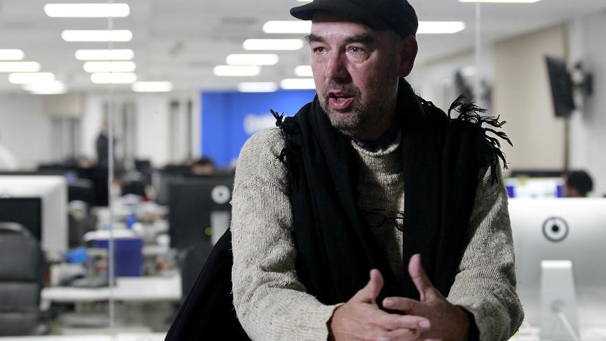 El filósofo y candidato al Senado por Ávila de Podemos, Santiago Alba Rico. / Marta Jara