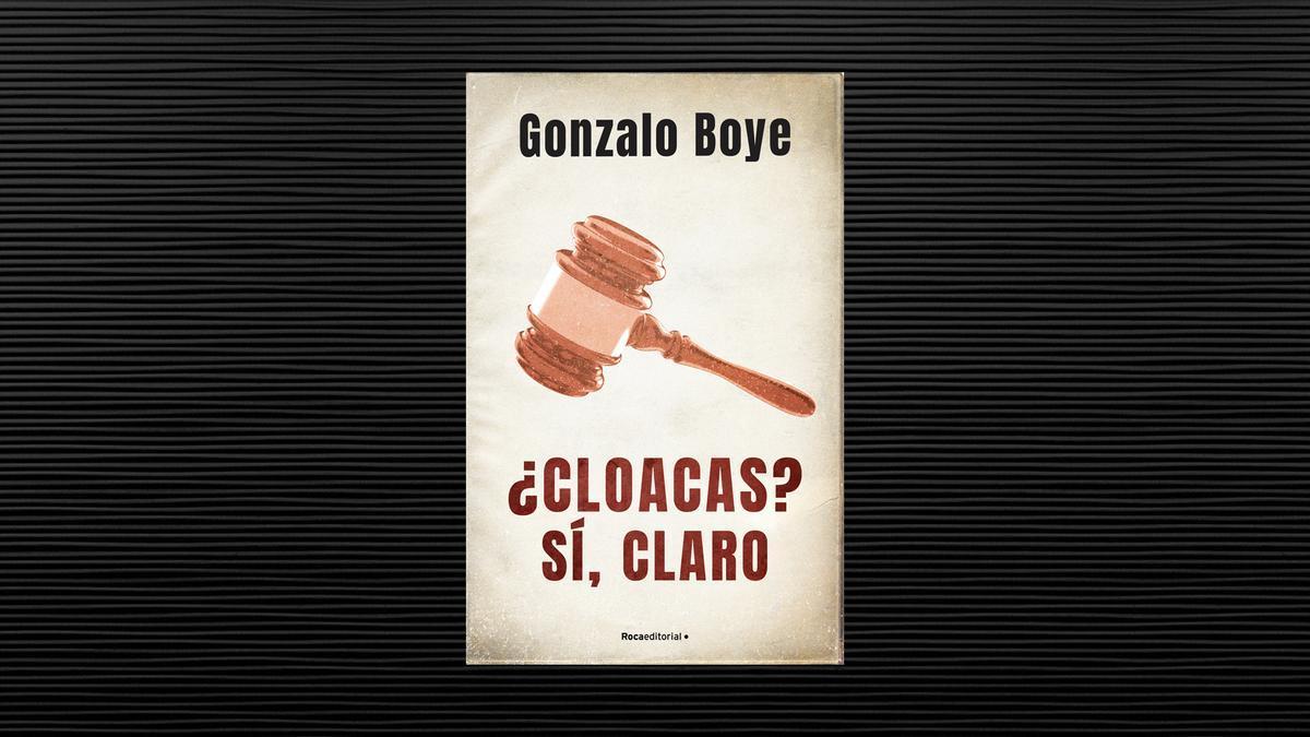 La portada del libro 'Cloacas'.