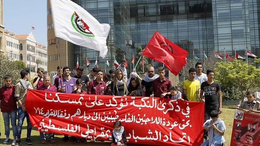 Los palestinos conmemoran hoy con protestas el 67 aniversario de la Nakba