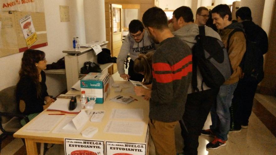 Referéndum para la huelga entre los estudiantes de la UCLM