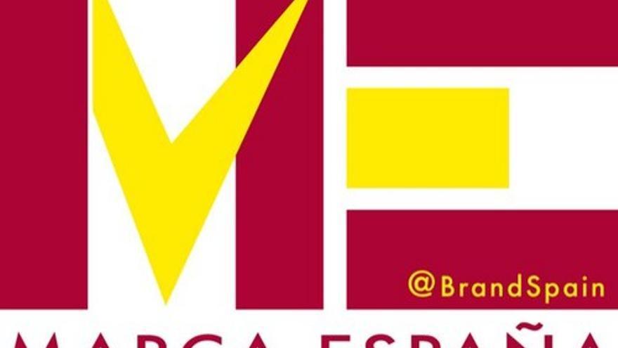 Logo cuenta twitter @MarcaEspaña