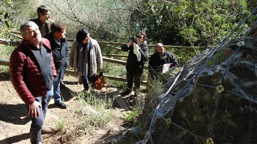 El diputat provincial Josep Bort ha visitat el resultat de la intervenció