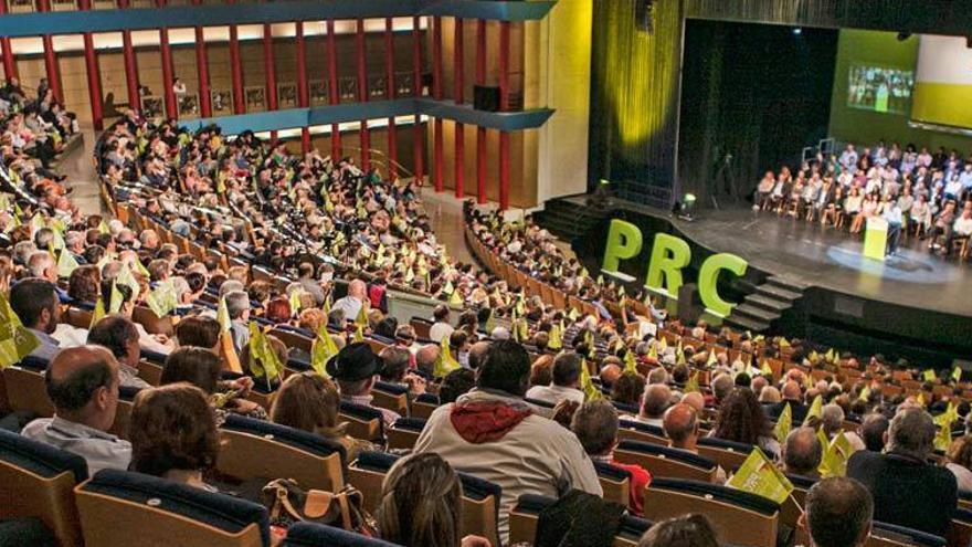 Celebración de uno de los congresos del PRC en el Palacio de Festivales de Santander. | PRC