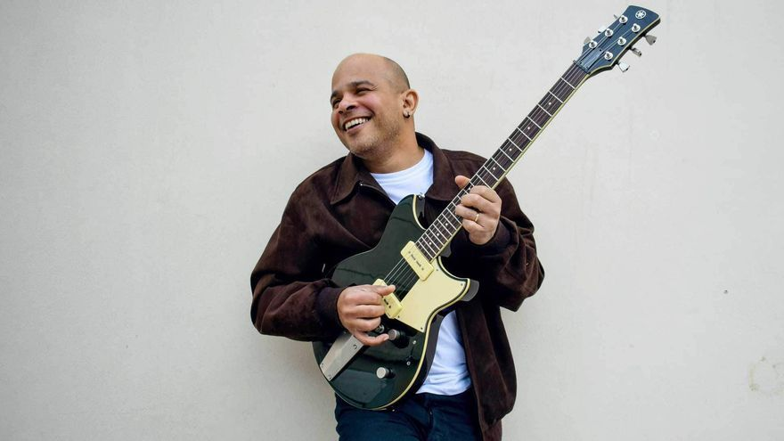 Jurandir Santana, guitarrista brasileño de jazz que actuará en La Laguna este jueves