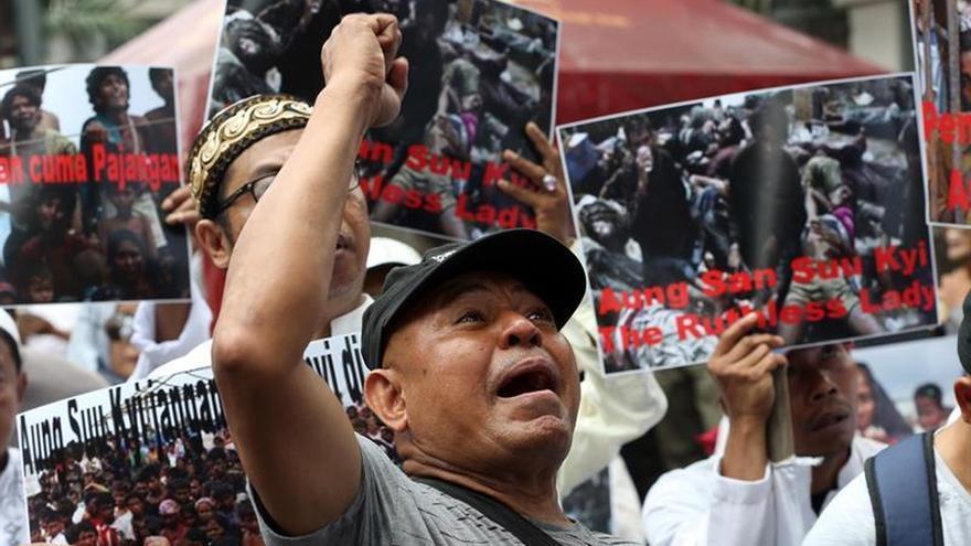ACNUR afirma que casi 60.000 rohinyás han llegado a Bangladesh