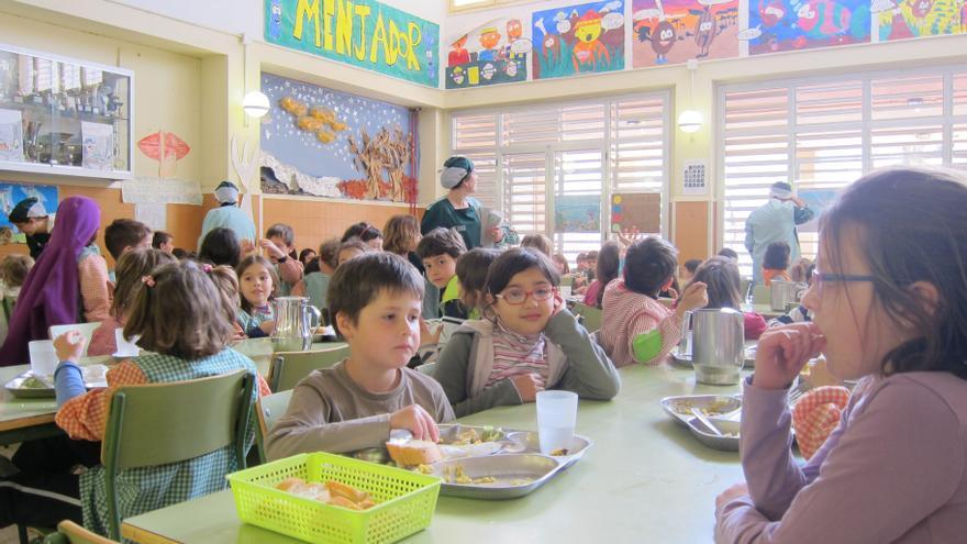 Cerca de 160.000 menores aprendieron hábitos de alimentación saludable y ejercicio físico en la escuela el curso pasado