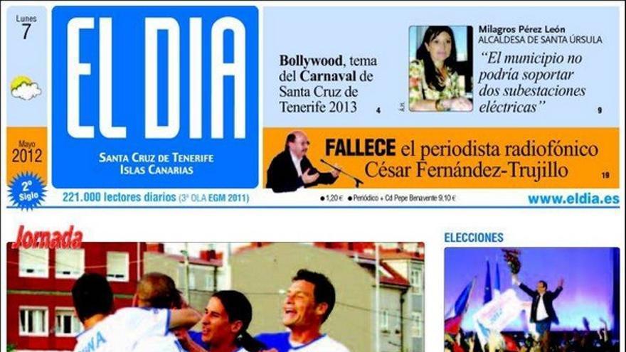 De las portadas del día (07/05/2012) #4