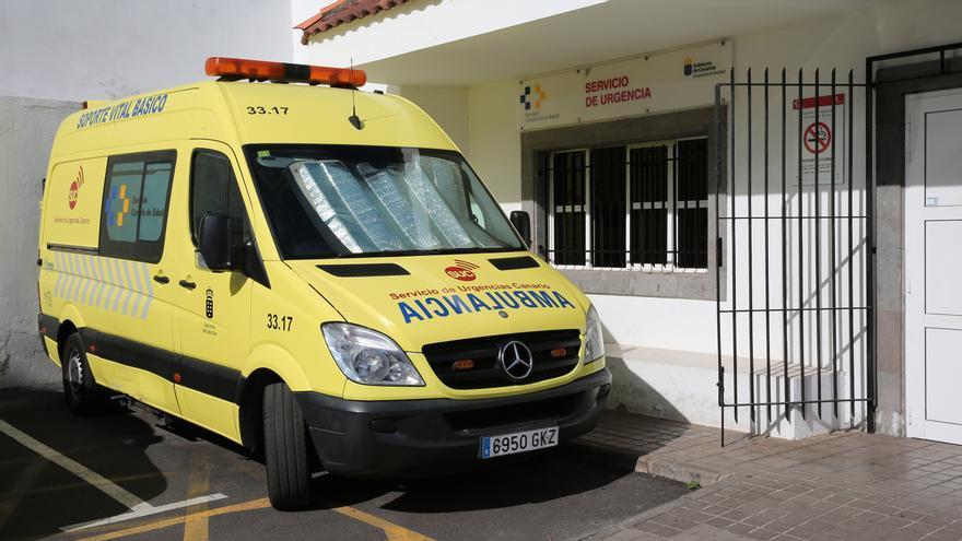 Ambulancia de Soporte Vital Básico en Teror (Gran Canaria).